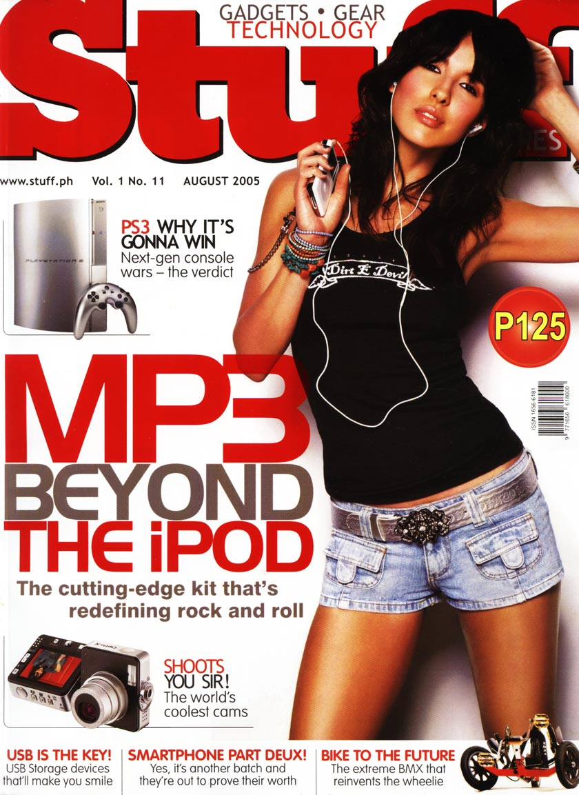 Stuff Magazine cover featuring Acid42